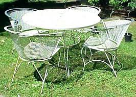 white cast iron patio furniture. Unique Cast White Iron Patio Furniture Metal Garden Cool Vintage  Outdoor Table Cast And E