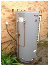 rheem 25 litre hot water system. completed express hot water systems installation of rheem 250 litre storage heater, 25 system