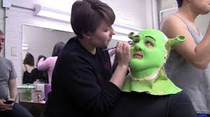 shrek makeup process