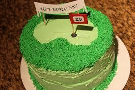 Diy Golf Birthday Cake This That