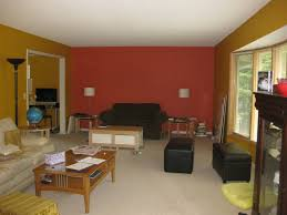 Two Color Living Room Small Space Living Room Furniture With Nice Blend Color Red And
