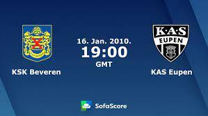 KSK Beveren KAS Eupen Live Ticker und Live Stream - SofaScore