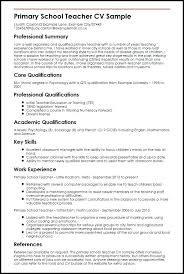 Sample Resume Teaching Sample Teaching Resume Sample Teacher ...