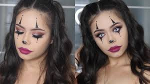 easy clown makeup tutorial