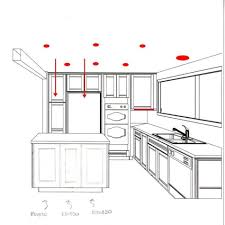 kitchen lighting placement. Exellent Placement Kitchen Recessed Lighting Placement Can Excellent  Layout For Any Rooms To
