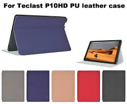 For Teclast P10HD/P10S <b>Fashion Case</b> Flip Stand PU Leather Case ...