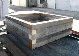 best wood for raised garden beds. Raised Planter Reclaimed Wood Bed Garden Planters On Wheels Australia Best For Beds I