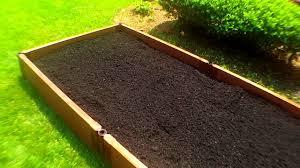Raised Bed Organic Vegetable Gardening Planting With Deep Soil Raised Garden Bed How Deep Soil