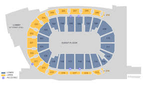 Ford Center Evansville Seating Chart With Seat Numbers Ford Center Venuworks