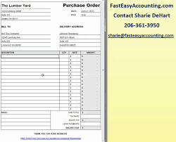 Purchase Order Format Free Download Free Contractor Purchase Order Template On Excel Download By Fast 1