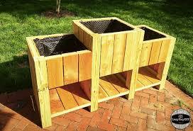 amazing diy wooden planter box ideas