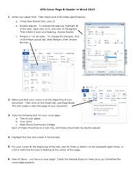 Writing A Title Page 2019 Apa Title Page Fillable Printable Pdf Forms Handypdf