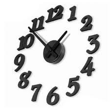 3d diy clock adhesive decal modern wall digit number room interior decoration clock saat wall clock wall clocks small wall clocks to from hexiaofeng1216