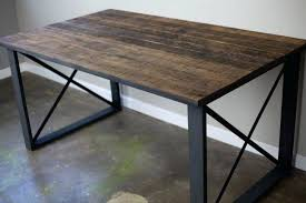 medium size of kasey reclaimed wood desert grey dining table by kosas home rustic console