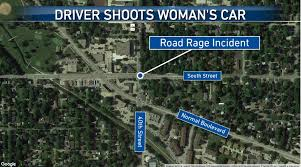 Womans Car Shot During Road Rage Incident In Lincoln