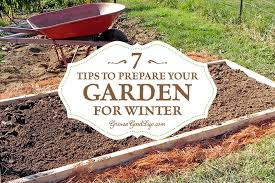 taking the effort to clean up the vegetable garden beds in fall makes it very easy