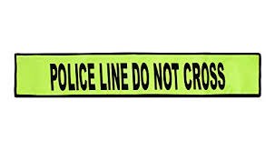 Flex-Safe® - <b>Police Line Do Not</b> Cross - High Visibility Traffic Safety ...