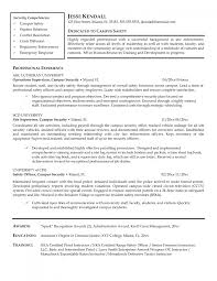 cover letter resume security resume template samplenetwork security officer large size network security officer