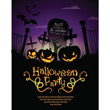 halloween party flyer template free free halloween party invitation templates google search