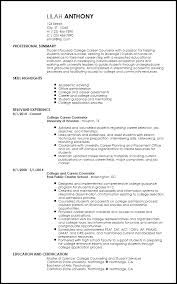 Academic Resume Templates Fascinating Free Creative Academic Advisor Resume Templates ResumeNow