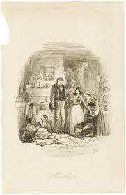 characters in david copperfield online exhibition charles dickens  illustrations for dickens novels victoria and albert museum changes at home etched illustration by hablot knight
