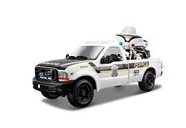 Maisto 1:24 Scale 1999 Police Ford F350 and Harley ... - Amazon.com