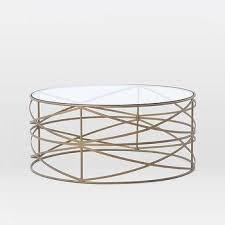 Elegant Round Brass Coffee Table Round Brass Frame Glass Coffee Table Amazing Design