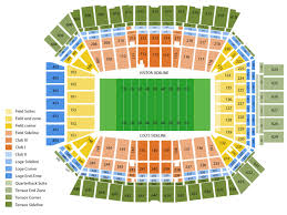 Titans Stadium Seating Chart Sports Simplyitickets