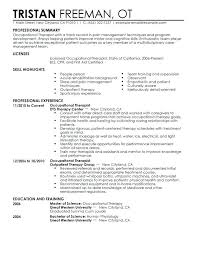 Physiotherapy Resume Samples India