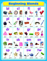 Consonant Blends Chart Buy Beginning Blends Chart Book Online At Low Prices In
