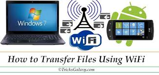 Transfer Data From Pc To Pc How To Transfer Files Between Android And Pc Laptop Using Wifi