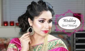 grwm indian wedding guest makeup wedding reception party makeup