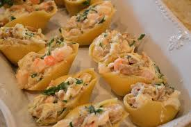 Seafood Stuffed Shells in a Sherry ...