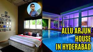 Allu Arjun House In Hyderabad YouTube - Chiranjeevi house interior