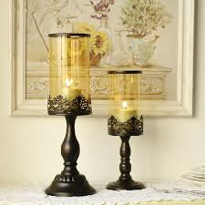 Image Holder Cube Romantic Charming Iron Candle Holders Elegant Glass Lantern Candle Stand For Wedding And Home Decoration Free Shipping Aliexpress Romantic Charming Iron Candle Holders Elegant Glass Lantern Candle