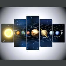 wall decor awesome solar system as seen from earth space scenery with regard to best on 3d solar system wall art decor with view photos of 3d solar system wall art decor showing 16 of 20 photos