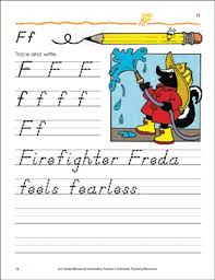 Handwriting Page Ff Handwriting Practice Page Upper And Lowercase Letters