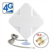 huawei b618. 4g lte indoor antenna (2 x ts-9 connectors) for huawei/zte huawei b618