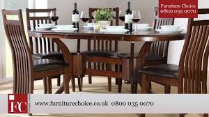furniture choice. townhouse oval extending dining table (dark) from furniture choice o