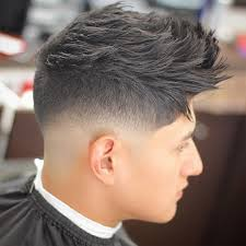 Low Fade Short Haircut Attractive Low Fade Vs High Fade Haircuts