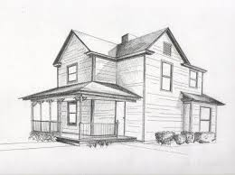 simple architecture design drawing. Design A House In 2 Point Perspective   Drawing Class Pinterest Simple Architecture