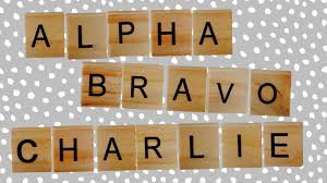 Alpha Bravo Charlie Military Alphabet Chart 4 Phonetic Alphabets That Didnt Survive Mental Floss