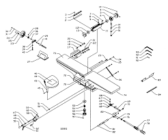 Craftsman model 152217060 jointer planer genuine parts kohler ignition diagram craftsman planer wiring diagram
