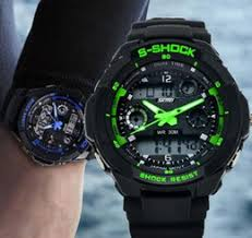 discount trendy mens watches 2017 trendy watches for mens on mens trendy cool s shock sports watch led analog digital waterproof alarm p1 3