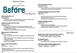 FindSpark One Page Resume Before ...