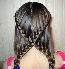 Dětské účesy Pro Dívky Pro Dlouhé Vlasy A Středně Dlouhé Vlasy Pro