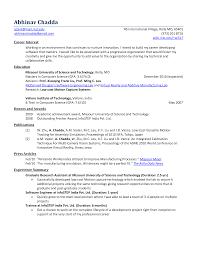Useful Mba Fresher Resume Objective In Fresher Resume Sample