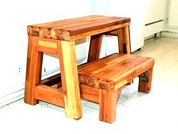 Wooden step stool with handle Plans Long Step Stool Wooden Step Stool With Handle Kitchen Step Stool Step Stool Plans Wooden Step Winyourpiceclub Long Step Stool Extra Long Step Stool Rustic Red Large Wooden Step