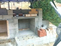 how to build outdoor stone fireplace wood fired brick pizza oven and by ovens cost out