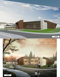 Architecture Design Photoshop 3rd Year Project College Building Photoshop Architectural
